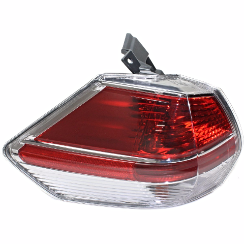 Fits 14-16 NISSAN ROGUE LEFT DRIVER TAIL LAMP ASSEMBLY QUARTER MOUNTED