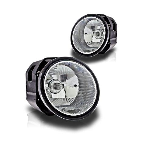 Fits 03-04 Xterra & Frontier Left & Right Fog Lamp / Light Assemblies - Set