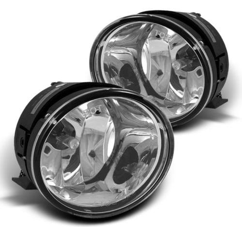 Fits 04-07 Armada 04-14 Titan Left & Right Fog Light Lamp Assembly - Set
