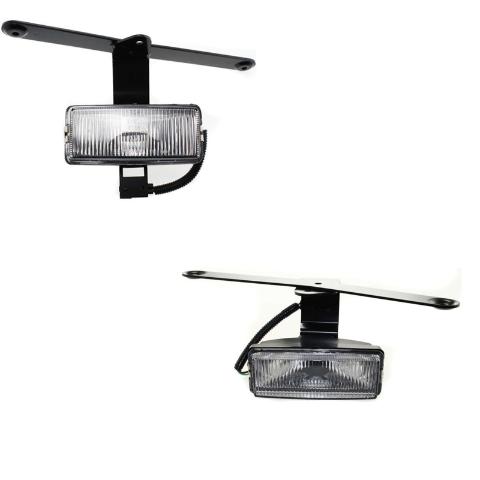 Fits 00-01 Xterra 00 Frontier Left & Right Fog Light / Lamp Assemblies - Set