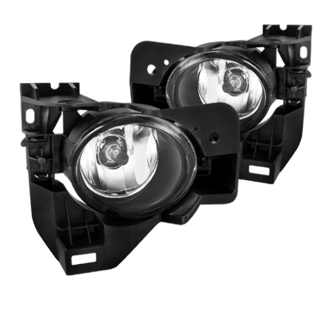Fits 09-14 Maxima Left & Right Fog Lamp / Light Assemblies W/Bracket - Set