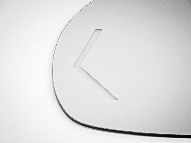 Fits 09-13 Silverado Sierra Left Driver Mirror Glass w// Signal For Auto Dim Type