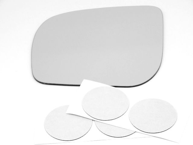 Fits 09-13 Forester Left Driver Mirror Glass Lens w/Silicone   USA
