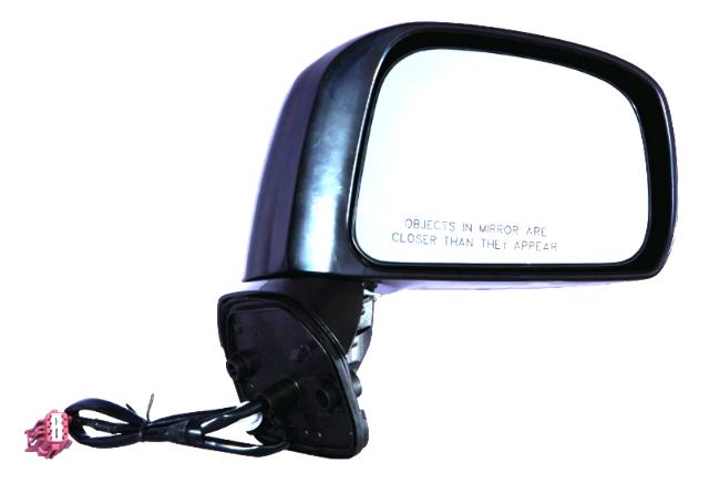 Fits 08-11  Versa Sedan Right Passenger Power Mirror Unpainted Non Heat