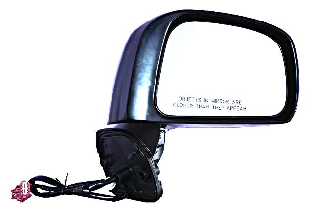 Fits 07-12  Versa Hatchback Right Passenger Power Mirror Unpainted No Heat