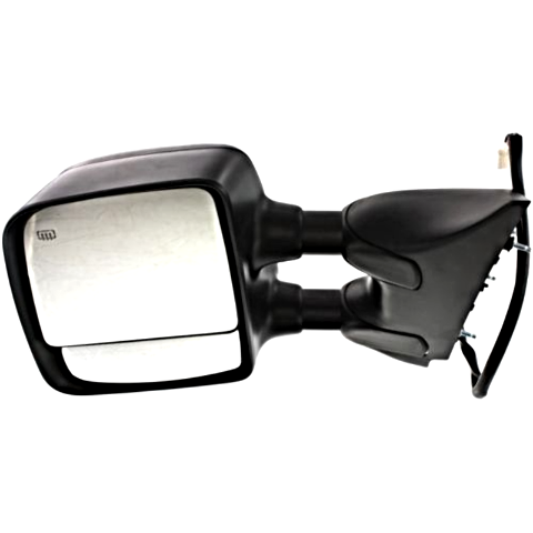 Fits 04-15 Titan Left Driver Telescopic Tow Mirror Pwr, W/Heat, Memory,Dual Arms