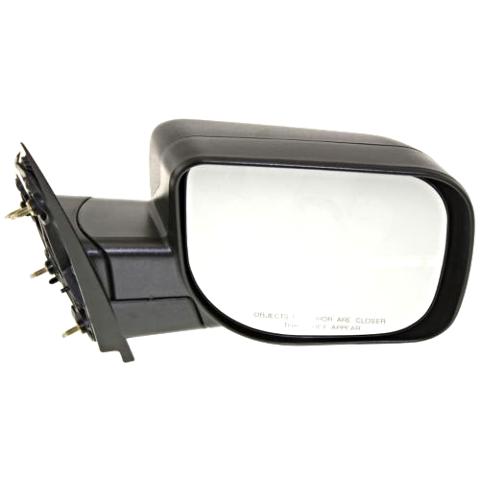 Array - fits 04 10 infiniti qx56 right passenger manual mirror textured      rh   bustedautoparts com