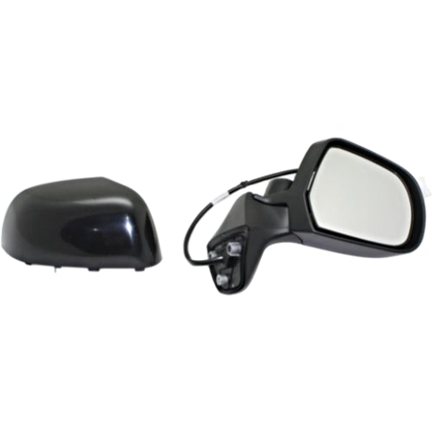 Fits 14-15  Versa Note Right Pass Power Mirror Unpainted No Ht or Camera