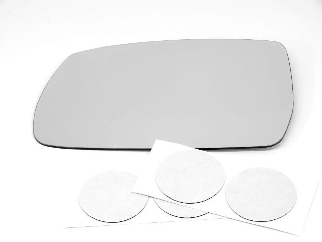 Fits 10-15 Hy Tucson Left Driver Mirror Glass Lens  w/Silicone  USA