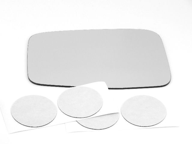 Fits 11-12  CR-Z Left Driver Mirror Glass Lens  non heated w/ Adhesive USA