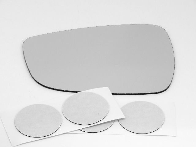 Fits 11-15 Elantra Sedan Left Driver Mirror Glass Lens W/ Silicone  Pads