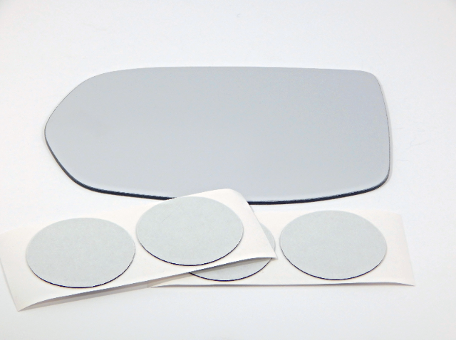 Fits 12-19 CR-V 16-19 HR-V  Left Driver Heated Mirror Glass Lens w/o Wide Angle