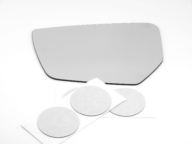 Fits 14-15 Impala Left Driver Mirror Glass Lens w/Silicone USA w/o opt rear brkt