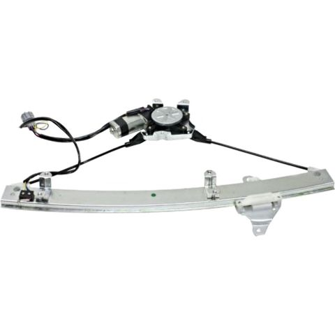 Fits 03-06 Nissan Sentra Left Driver Power Window Regulator With Motor W/ Anti Pinch