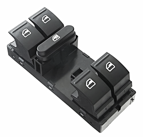 Window Switch Left Driver Master 5 Button 10 Pin For Various VW Models see Details