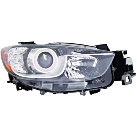 Fits 13-16 MAZDA CX-5 RIGHT PASSENGER HALOGEN HEADLAMP ASSEMBLY