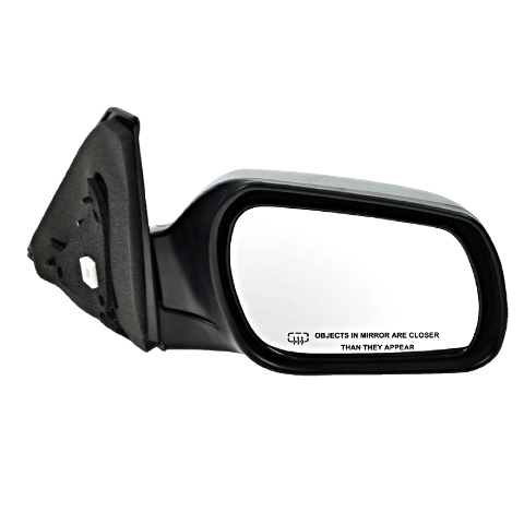 Fits 04-09 3 Right Passenger Power Mirror Smooth Black With Heat