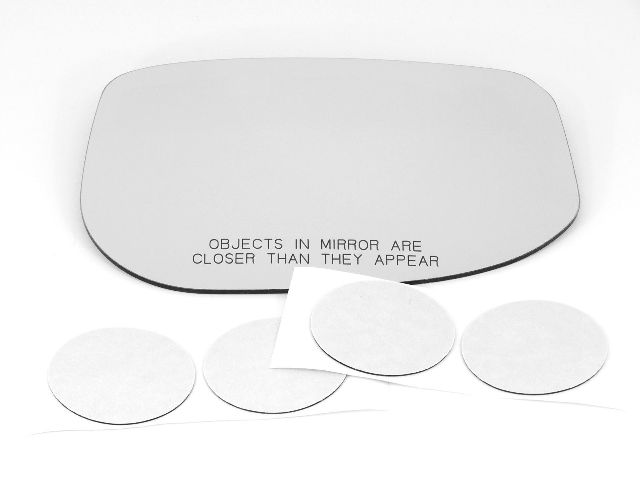 Fits 10-14 Insight Right Passenger Convex Mirror (Glass Lens Only)  w/Silicone  USA