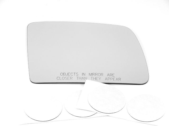 Fits 2010 Transit Connect Right Passenger Heated Mirror Glass Lens Only w/Adhesive