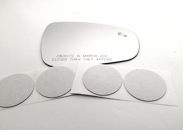 Fits Various Lexus Right Pass Mirror Glass Lens w/ Blindspot ES, GS, RC, IS, LS
