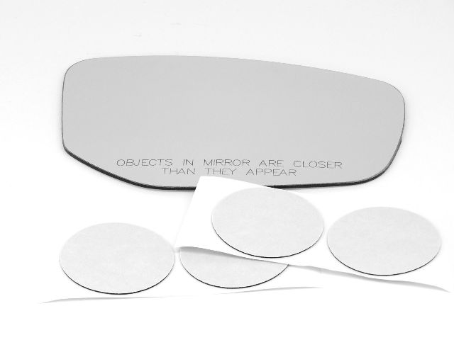 Fits 13-16 Dodge Dart Right Passenger Convex Mirror (Glass Lens) non heated