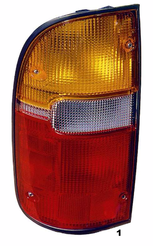 FITS 95-00 TOYOTA TACOMA LEFT DRIVER TAIL LAMP ASSEMBLY