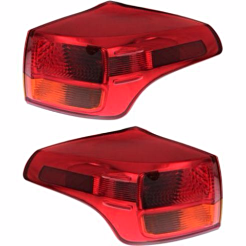 Fits 13-15  RAV4 JAPAN BUILT LT & RT SET TAIL LAMP ASSM QUARTER MOUNTED
