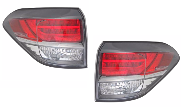 Fits 13-15  RX350 RX450H Left & Right Tail Lamp Quarter Mounted Japan Built