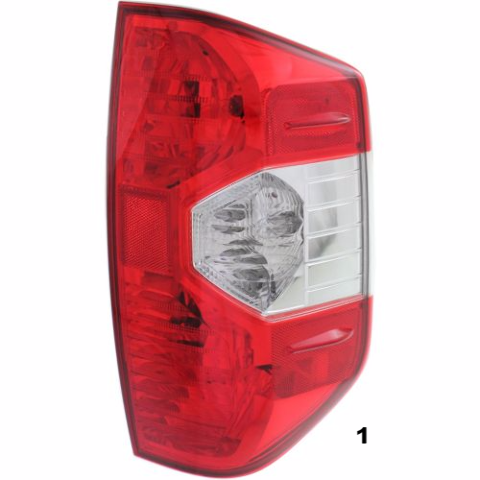 FITS 14-17 TOYOTA TUNDRA RIGHT PASSENGER TAIL LAMP ASSEMBLY
