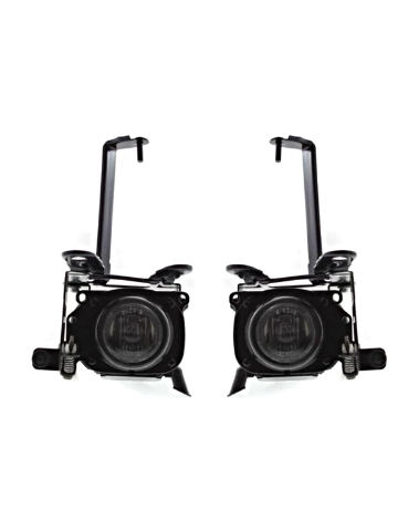 Fits 99-02 Toyota 4Runner Left & Right Fog Lamp Assembly (factory installed) - pair