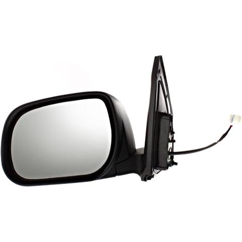 Fits 09-12  Rav4 Left Driver Mirror Power w/out Ht, Sig Japan Built Models