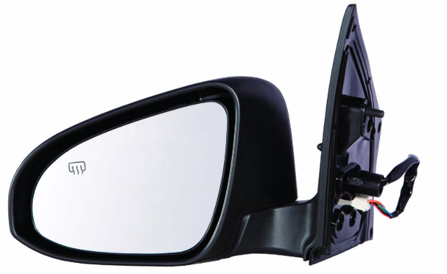 Fits 14-18  Corolla Left Driver Power Mirror Assm Heated w/ Signal