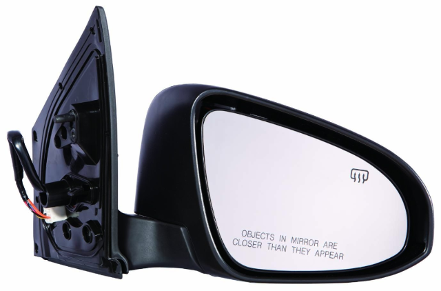 Fits 14-18  Corolla Right Passenger Power Mirror Assm Heated w/ Signal
