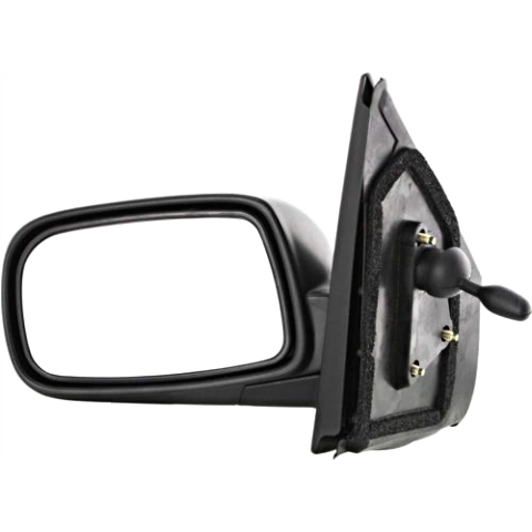 Fits 00-05  Echo Left Driver Manual Remote Mirror Textured Manual Folding