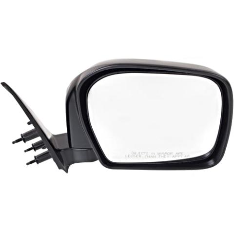 Fits 00  Tacoma Right Passenger Mirror Manual Black Folding Unpainted