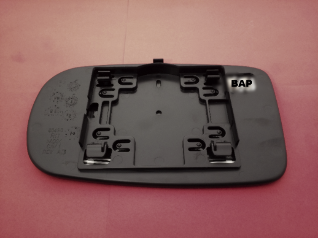 11-19 Dodge Charger RIGHT SIDE PASSENGER SIDE NON HEATED MIRROR GLASS OEM MOPAR