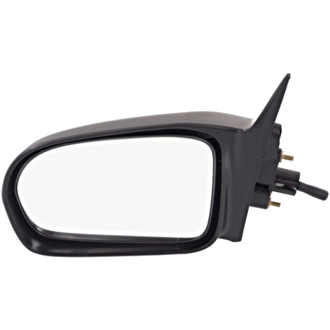 Fits 96-00 Civic Coupe/Hatchback Left Driver Mirror Manual Remote Non-Painted
