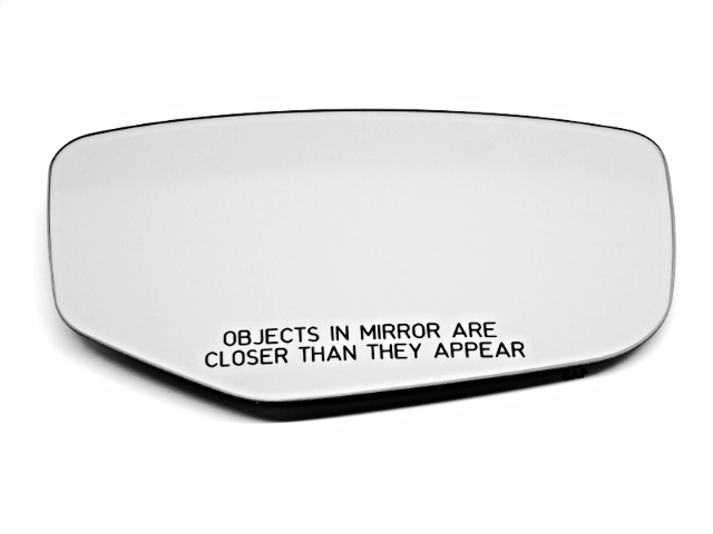 Right Pass Side Heated Mirror Glass w/Rear Back Plate for 13-17 Acura ILX  OE