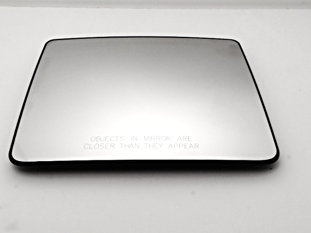 Fits 04-12  F150 Right Pass Upper Tow Mirror Glass Heated w/ Rear Holder