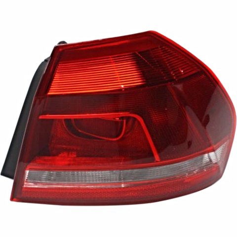 Fits 12-15  PASSAT RIGHT PASSENGER TAIL LAMP ASSEMBLY QUARTER MOUNTED