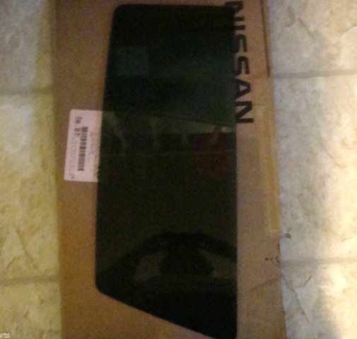 Left Driver Rear Door Fixed Vent Glass Privacy OE Part  Fits  05-15 Xterra