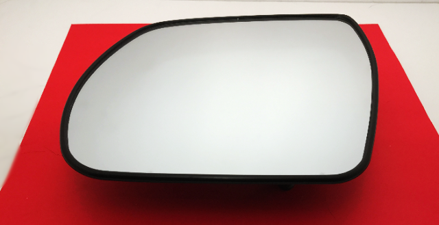 Fits 07-12 HY Veracruz Heated Left Driver Mirror Glass w/Rear Back Plate non Auto Dimming OE