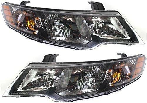 Fits 10-13 Forte Sedan 11-13 Forte Hatchback Left & Right Halogen Headlight Assm
