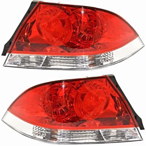 Fits 04-07 Mitsubishi LANCER Sedan Tail Lamp / Light Right & Left Set