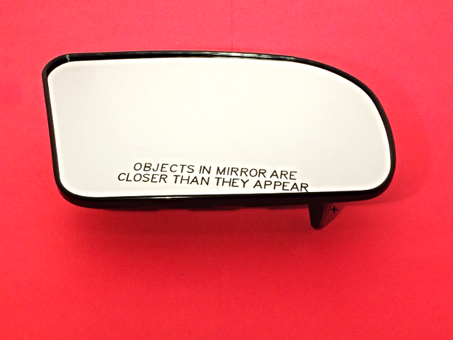 DNA Motoring OEM-MG-0427 963659KK0A OE Style Passenger//Right Mirror Glass For 2015-2018 NISSAN VERSA