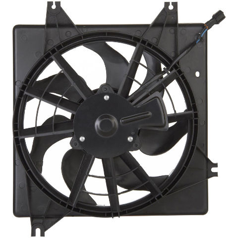 Condenser Fan Assembly Fits  00-04 Spectra 98-01 Sephia