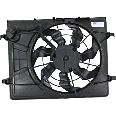 Fits Cooling Fan Assm Fits 07-10 Elantra Sedan 09-12 Elantra Wagon