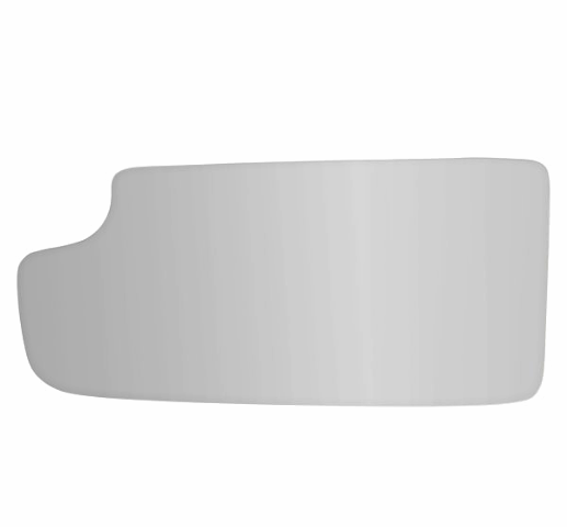 Fits 14-18 Silverado, Sierra Left Driver Lower Mirror Glass Lens w/Silicone