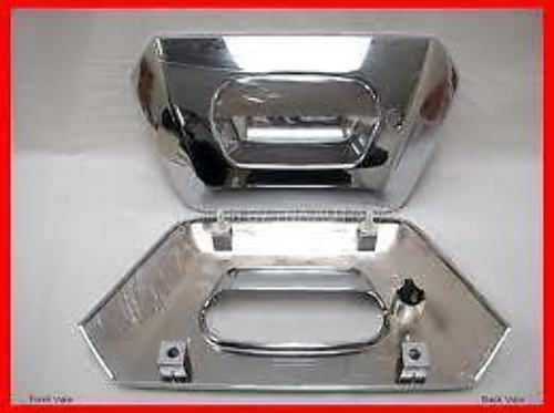 Fits 02-06 Chev Avalanche Rear Tailgate Bezel Cover Chrome