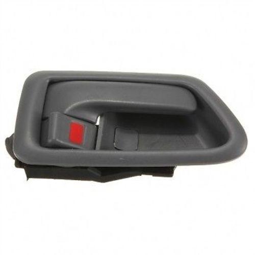 Fits 97-01 Camry Passenger Front / Rear Interior Door Handle w/ Bezel Gray